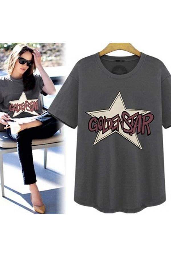 Μπλούζα κοντομάνικη GOLDEN STAR Μπλούζες