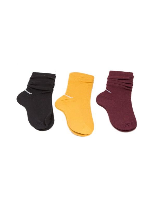 Κάλτσα μονόχρωμη FIT