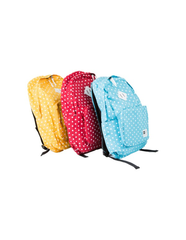 Τσάντα πλάτης πουά ZOOM